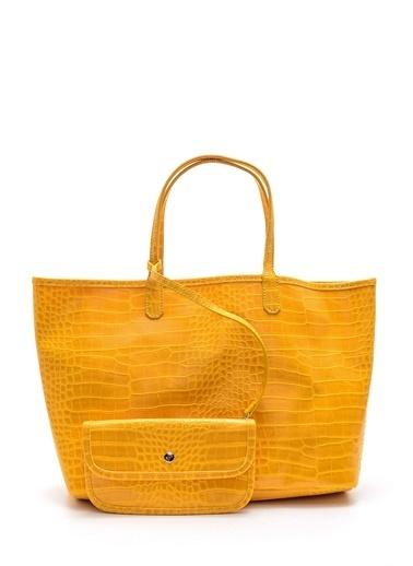 Derimod Kadın Çanta(2949) Casual Sarı